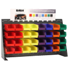 Bench Top Rack with Coated Lead Weight Assortment